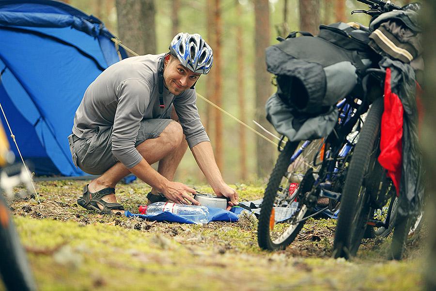 Ar velosipēdu pa Latviju