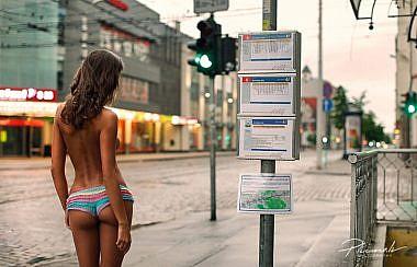 Kailfoto, barona iela, kaila meitene pilsētā, barona centrs, Fotogrāfs Mārtiņš Plūme