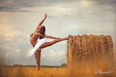 Kailfoto, balets, kaila balletdejotaja, balet nude art, Fotogrāfs Mārtiņš Plūme