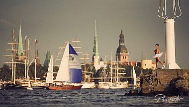 The Tall Ships Races, Rīga, Rīgas ainava, Kailfoto, Fotogrāfs Mārtiņš Plūme
