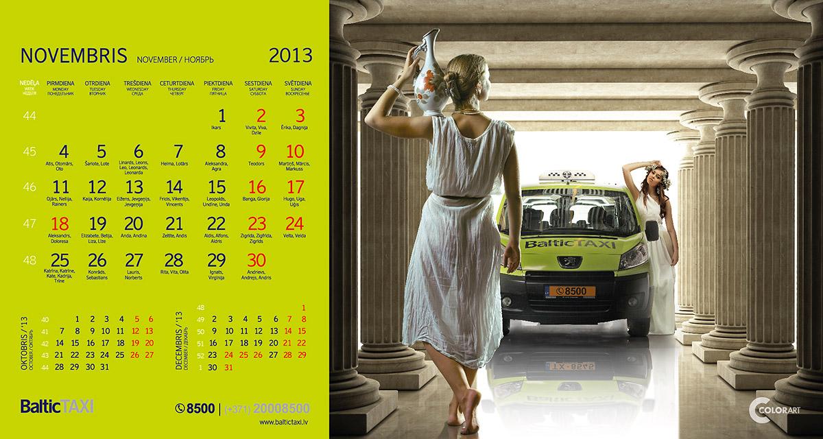 Baltic Taxi kalendars, fotografs Martins Plume  (11)