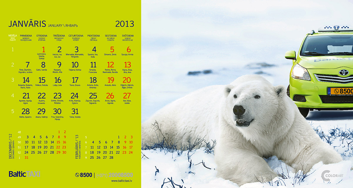 Baltic Taxi kalendars, fotografs Martins Plume  (13)