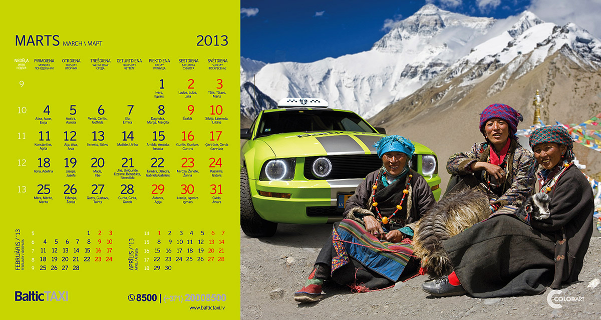 Baltic Taxi kalendars, fotografs Martins Plume  (3)