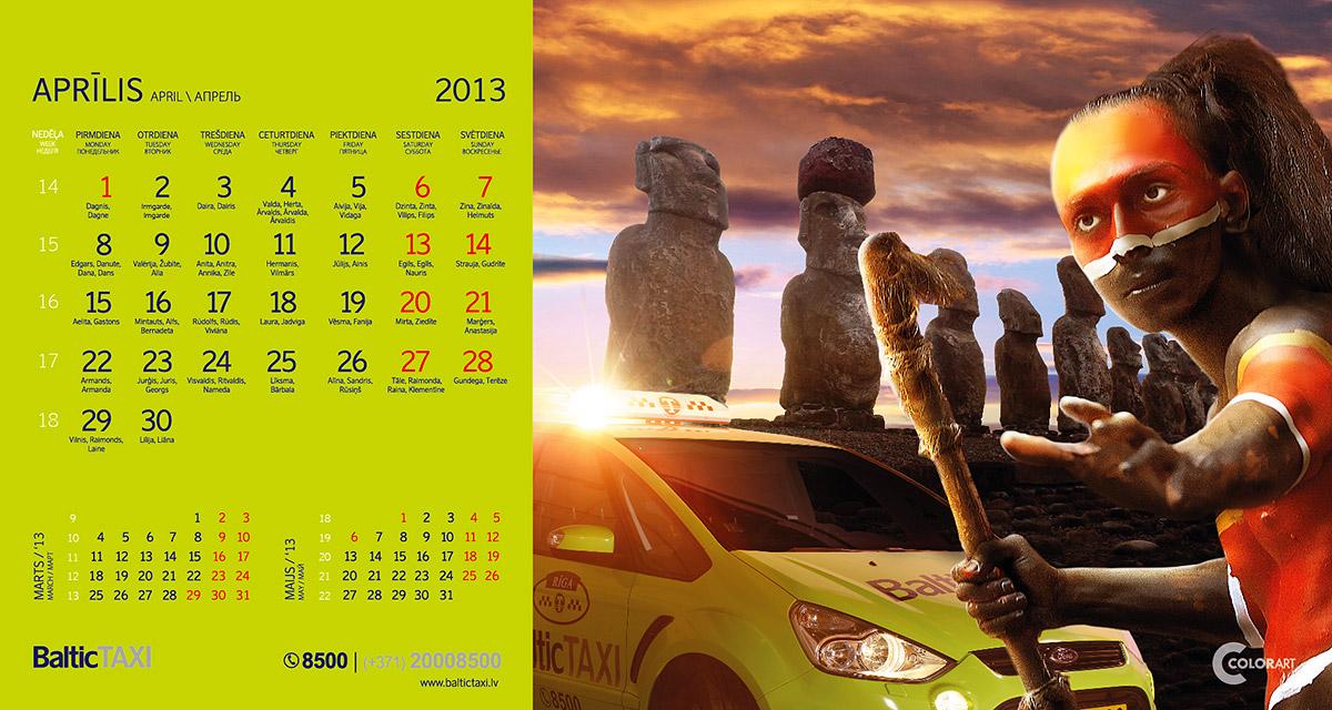 Baltic Taxi kalendars, fotografs Martins Plume  (4)