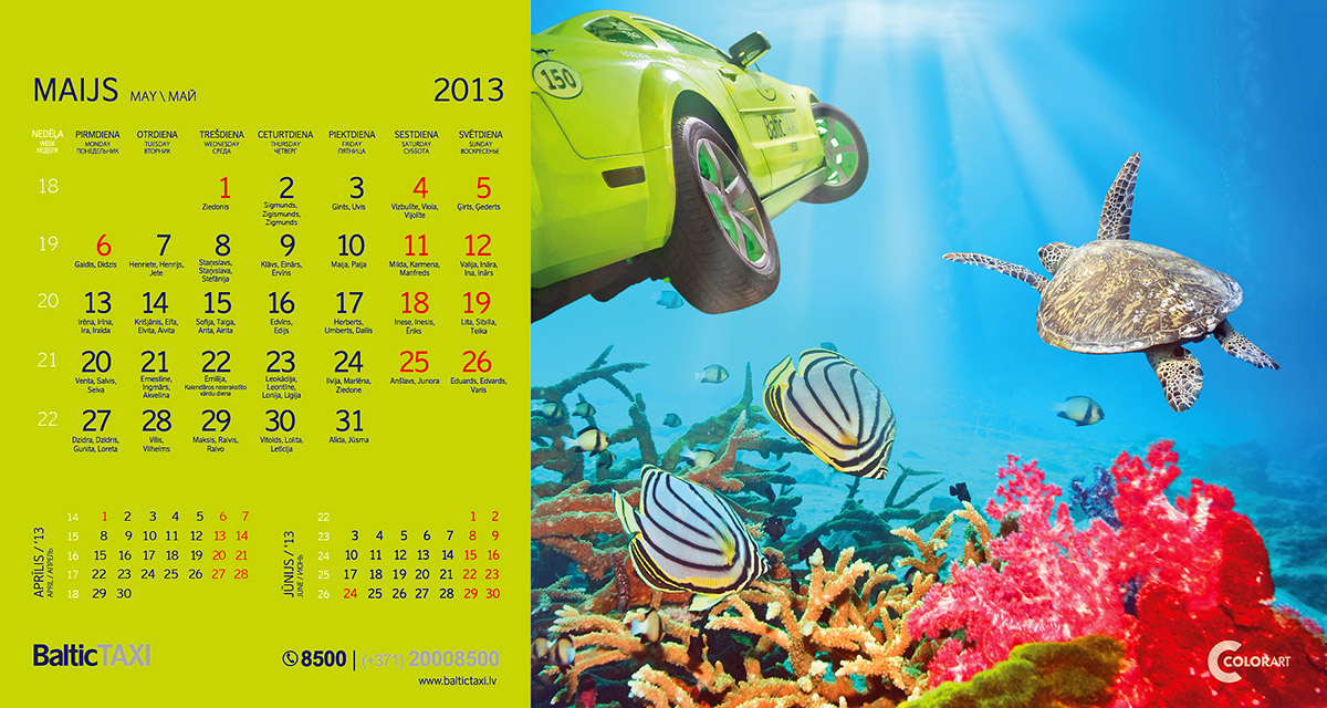 Baltic Taxi kalendars, fotografs Martins Plume  (5)