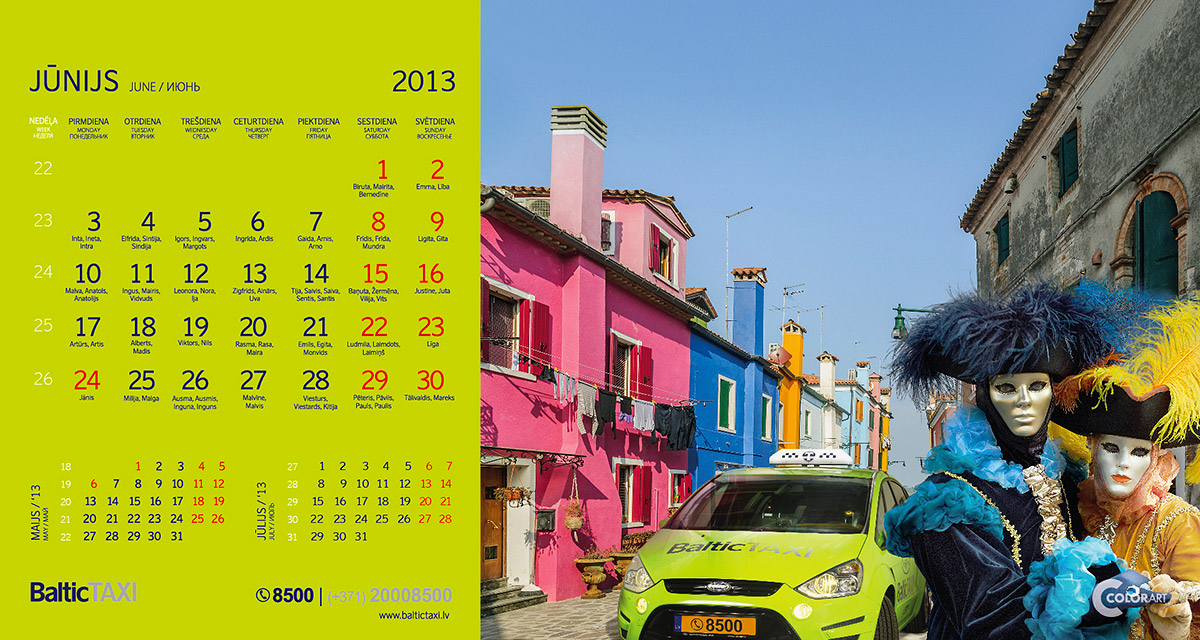 Baltic Taxi kalendars, fotografs Martins Plume  (6)