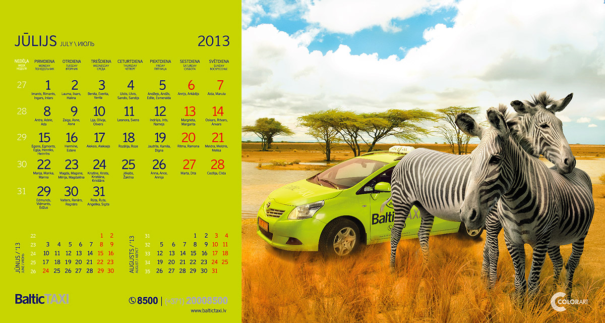 Baltic Taxi kalendars, fotografs Martins Plume  (7)