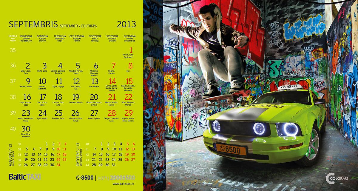 Baltic Taxi kalendars, fotografs Martins Plume  (9)