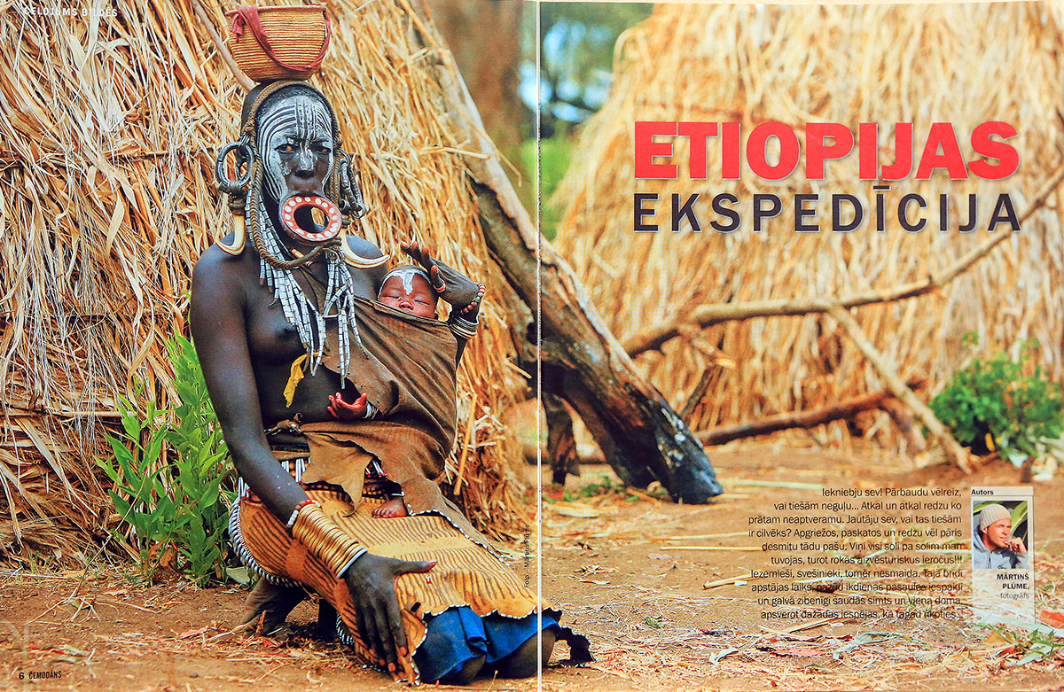 Etiopija, Etiopijas ekspedicija