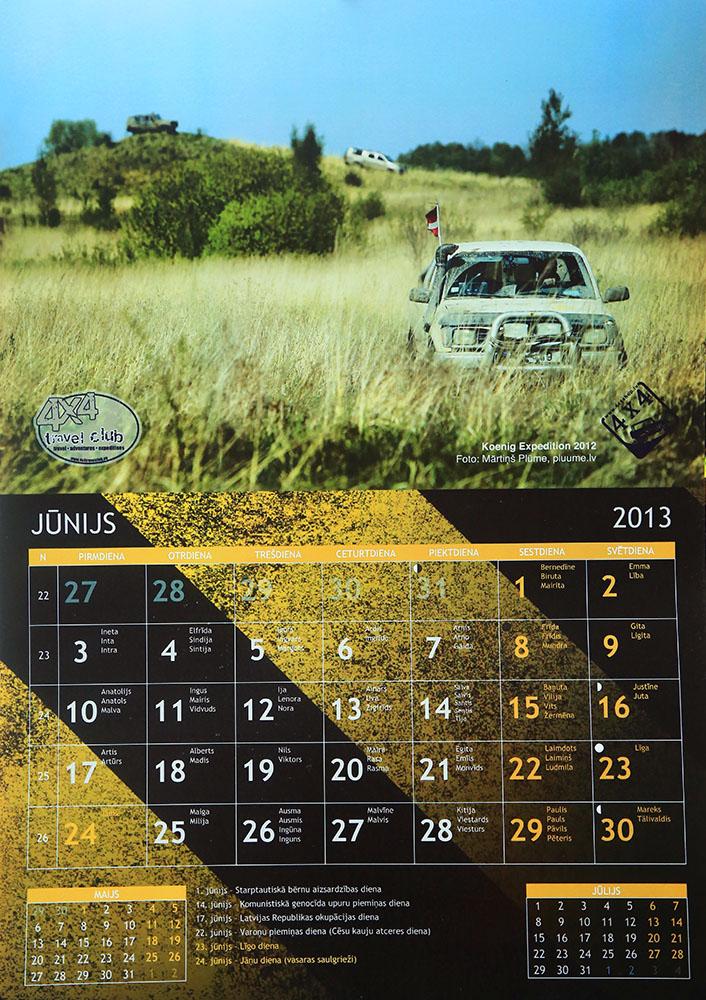 kalendars 4x4 shop