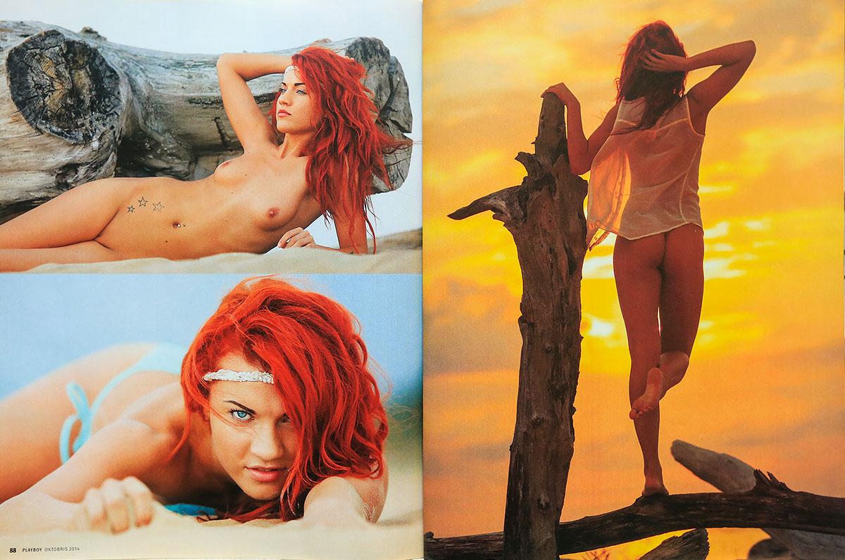 Playboy, Anna, Latvia