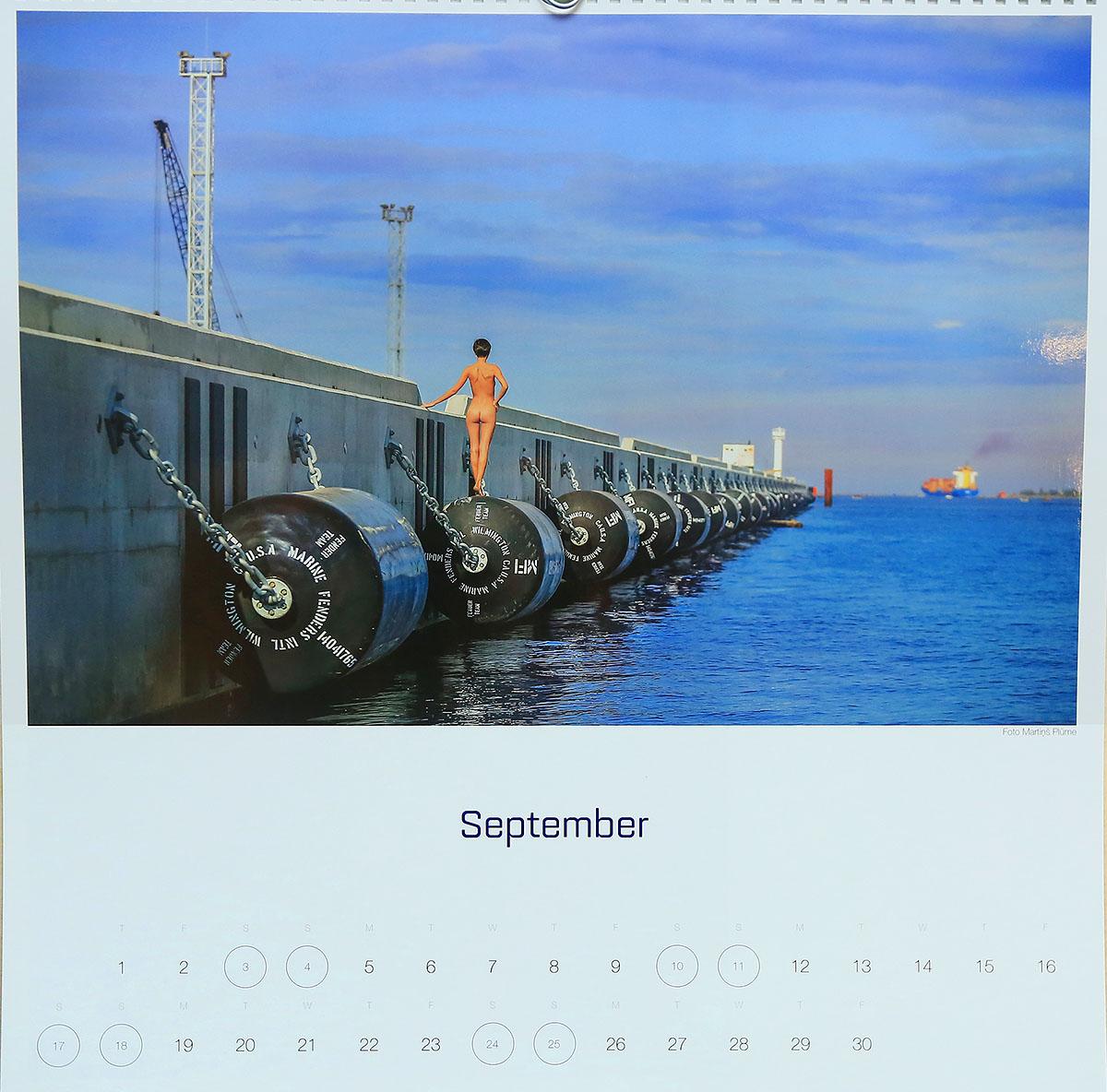 Erotiskais kalendars, erotic calendar, latvia