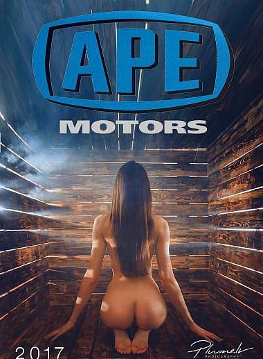 APE motors erotiskais kalendārs 2017