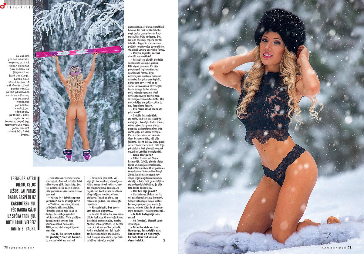 Liga Leite, zurnals klubs, kailfoto, kluba meitene, fotografs Martins Plume, nude magazine, model latvia (3)