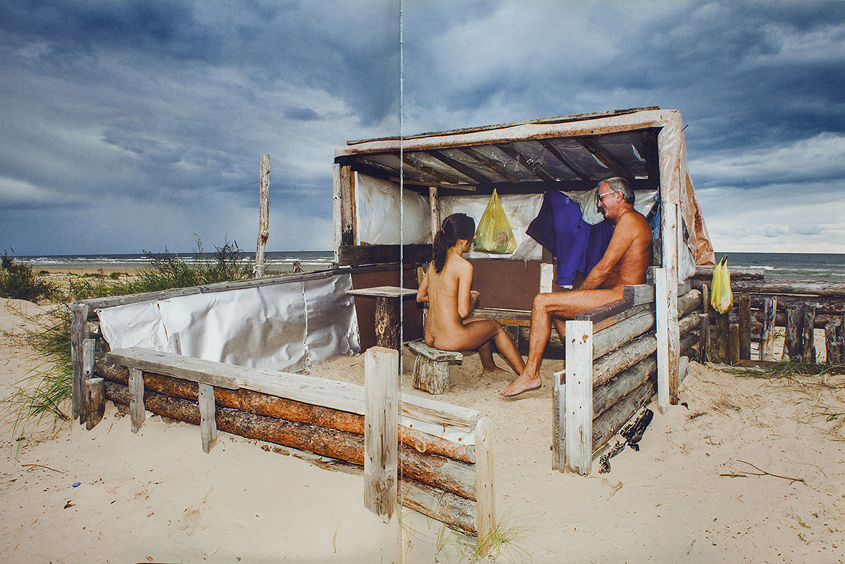 Viena Diena Latvija, 2007, nudistu pludmale, vecakos