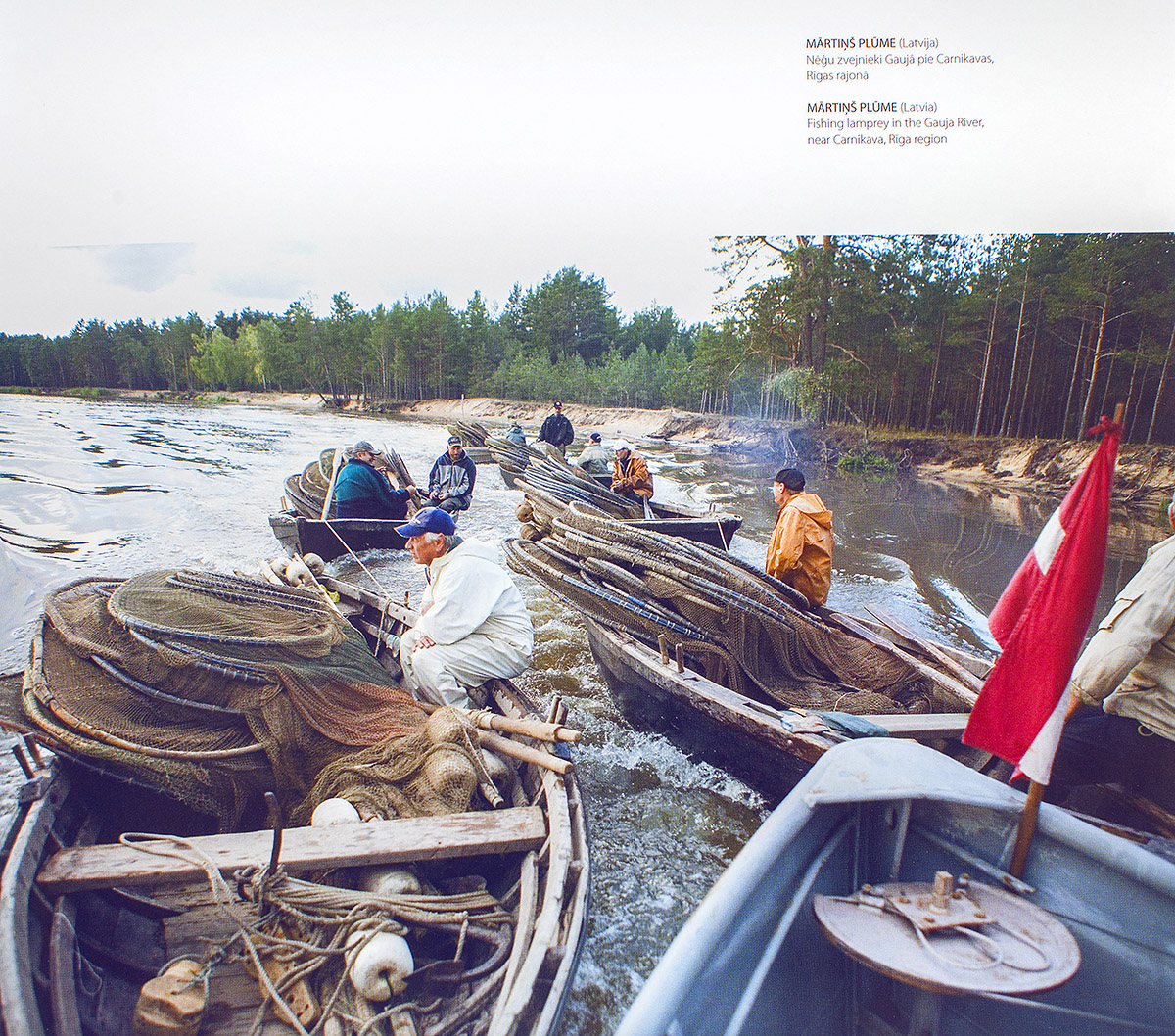 Viena Diena Latvija, 2007, zvejnieku laivas carnikava