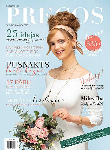 "Latvian wedding magazine ""Precos"""